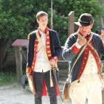 Student participates in historic re-enactment