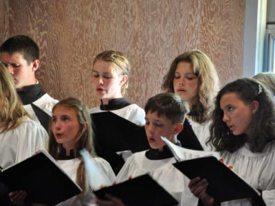 Learning to Sing at Choral Summer Camp, Lake Almanor